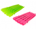 Glue Spreaders, 20 x Plastic PVA, 10x Green & 10x Pink. Craft, Adhesive, Paste, Spatula. S7628
